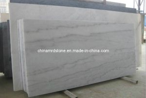 Hot Item Precut Polished Guangxi White Marble Slab For Bathroom Countertop Marble Slab White Marble Countertops