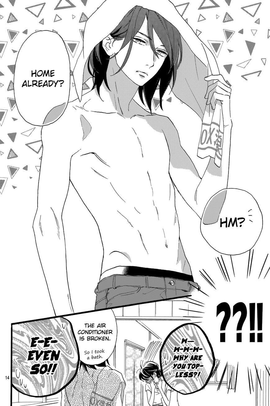 Top Shojo Scan Manga : shojo, manga, Tsubaki-chou, Lonely, Planet, Kyaaaa, Waiting, Shirt, Fresh, Shower!!!!, Planet,, Manga,, Shojo, Manga