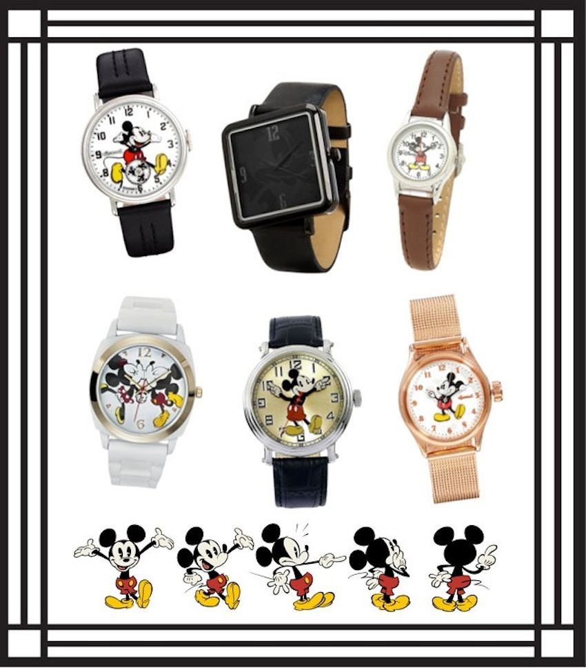Mickey Watch Round Up