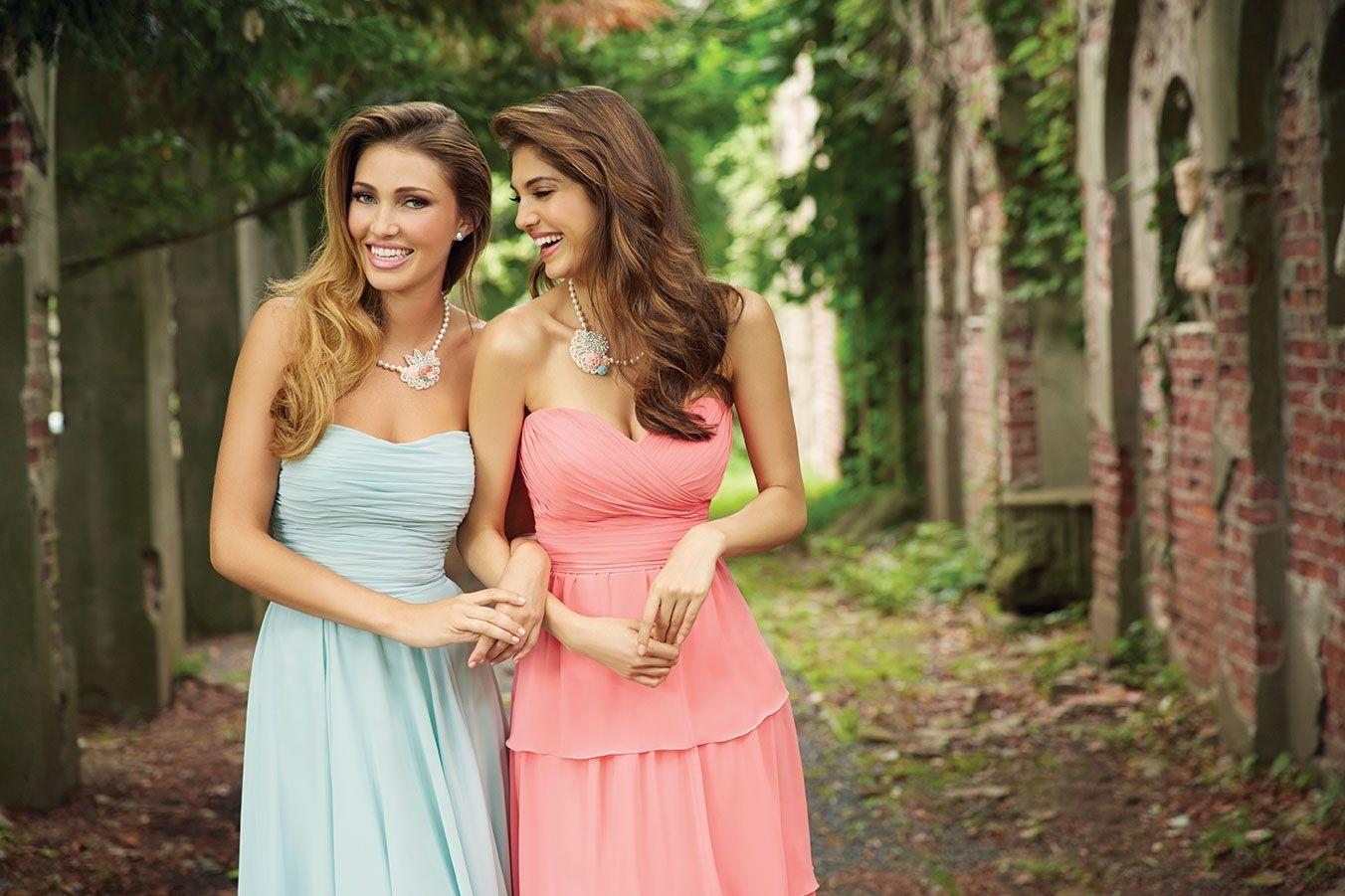 Wedding dresses for bridesmaids  Allure Bridals Style   ALLURE B R I D E S M A I D S
