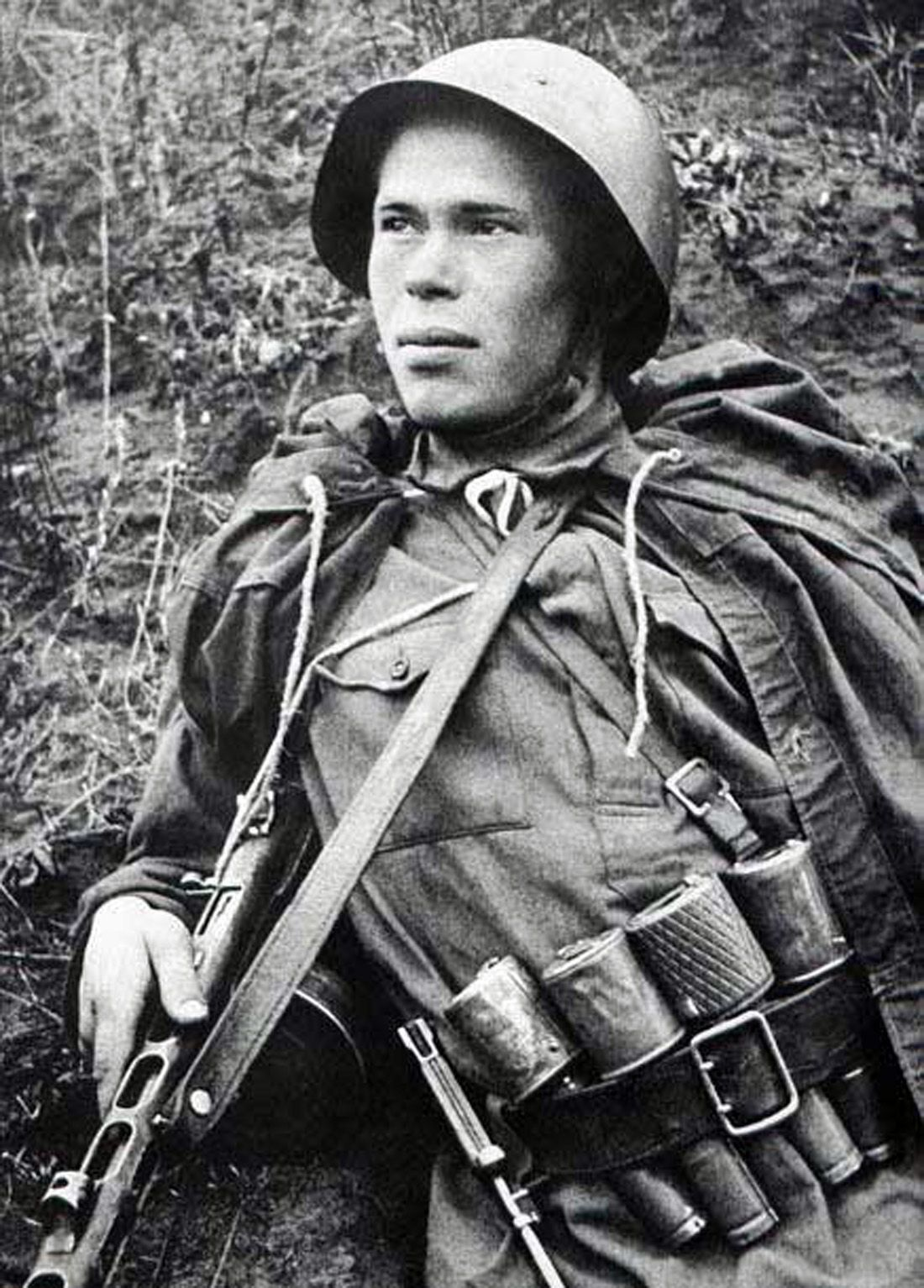 Image result for ww2 Russian soldier with a hand grenade