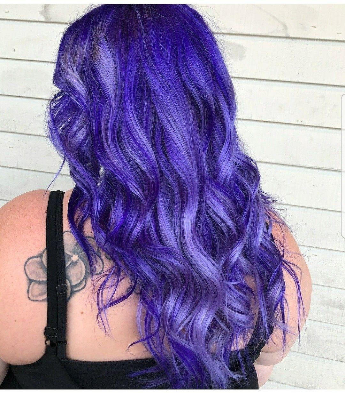 Purple Color Is Iroiro Hair Done By Olivia At Unique Reflections Purplehair Iroiro Unicornhair Hair Hair Inspiration Hairdo