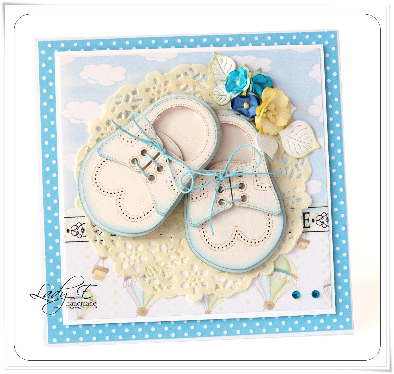 Scrap Art by Lady E: Baby shoes / Buciki