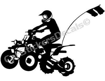 sticker PEGATINA motera enlatada moto saludo mano vinilo decal vinyl