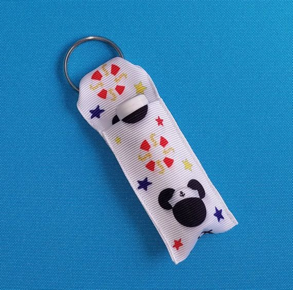 Chapstick holder- Lip balm holder - for Disney cruise - DCL - Nautical Mickey - Fish Extender gift - FE gift - Exclusive!