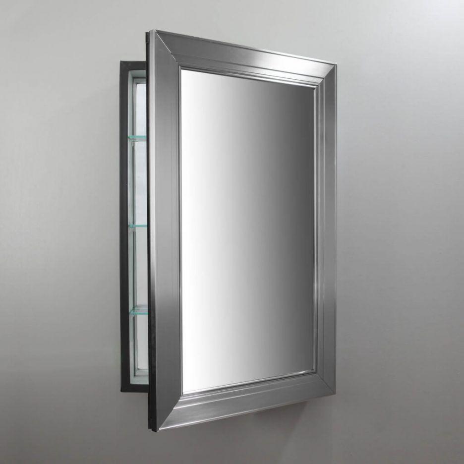 Badezimmer Wandschrank Spiegel