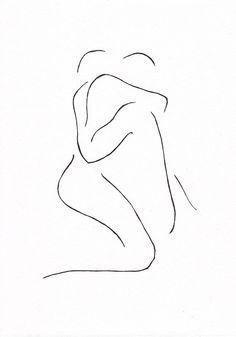 woman pencil Drawing erotic