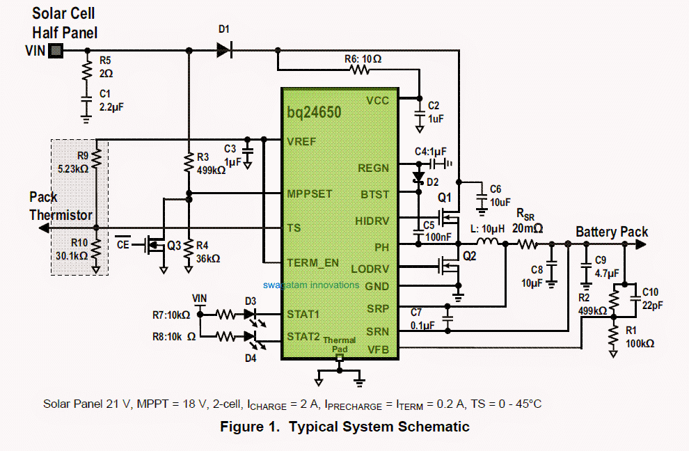 Mppt Solar Charge Controller Circuit Diagram As Well Ignition ... on
