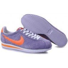 premium selection c46a6 b74ec Nike Classic Cortez Nylon 09 Light Purple Orange White