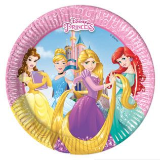 Princess Heart Strong - Paper Plates  sc 1 st  Pinterest & Princess Heart Strong - Paper Plates | Disney Princesses | Pinterest ...