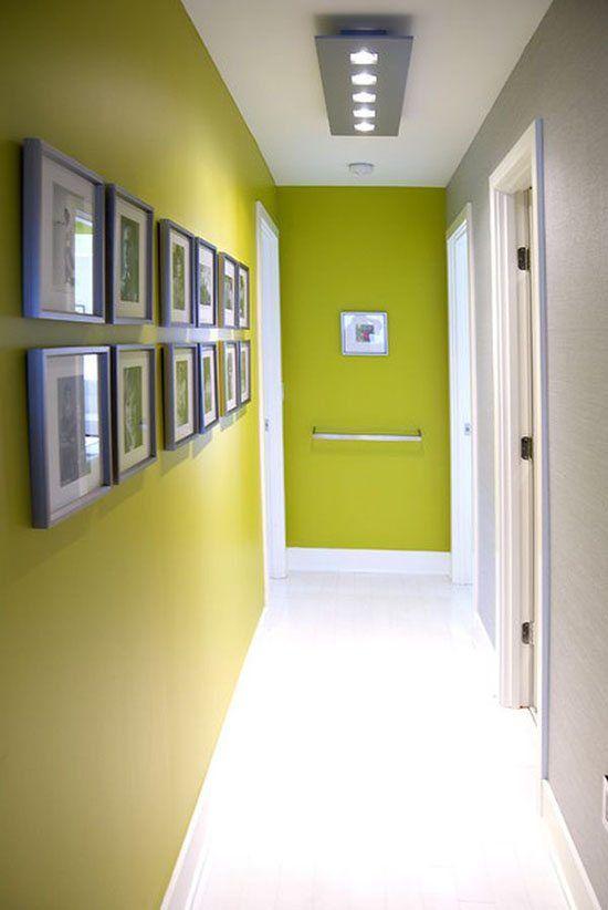 C mo pintar un pasillo estrecho y sin luz pasillos for Que color para un pasillo largo y oscuro