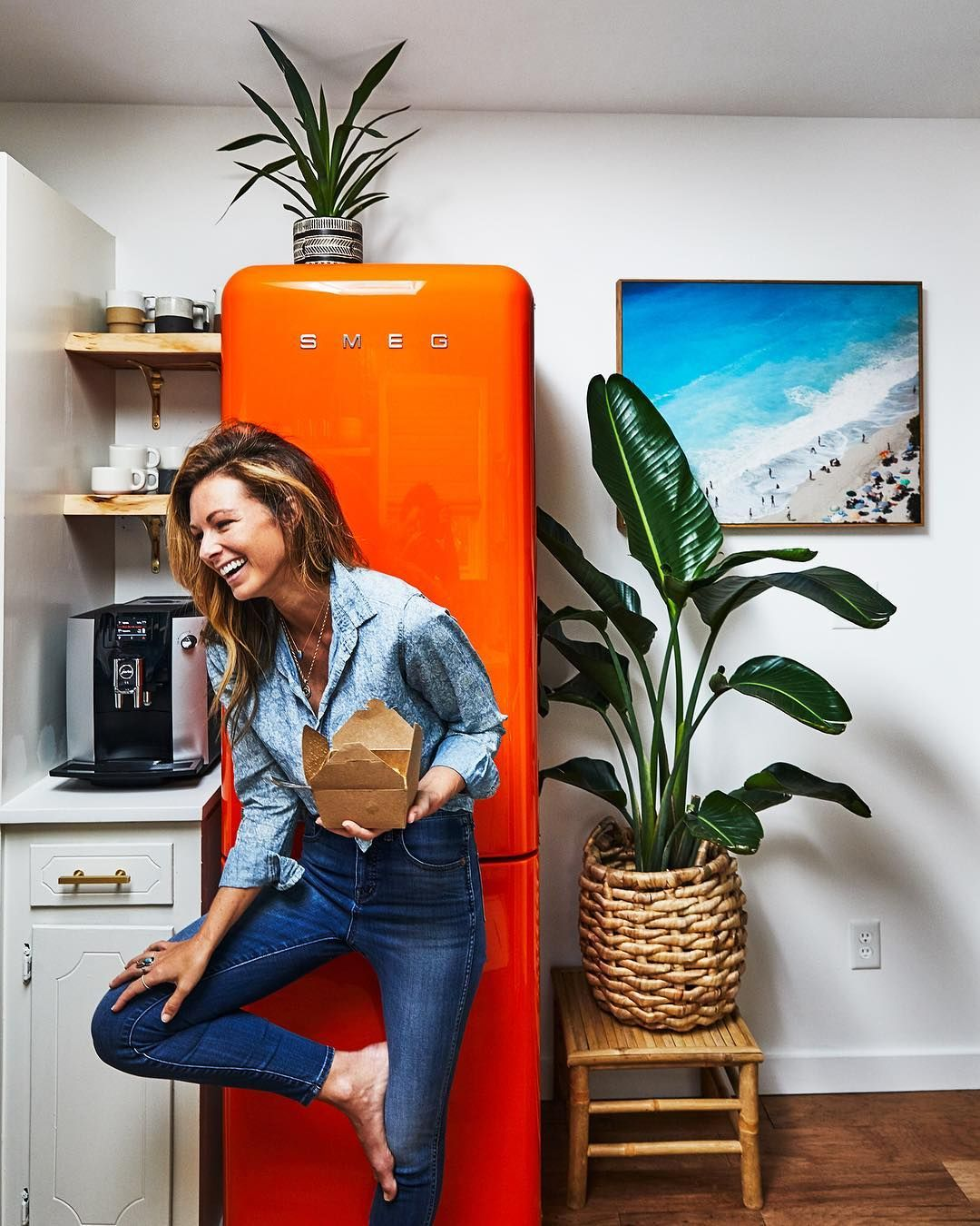 Chelsea Meissner On Instagram I Love My Fridge So Much Sometimes I Physically Hug It Smegusa Chelsea Southern Charm Chelsea News Southern Living Magazine