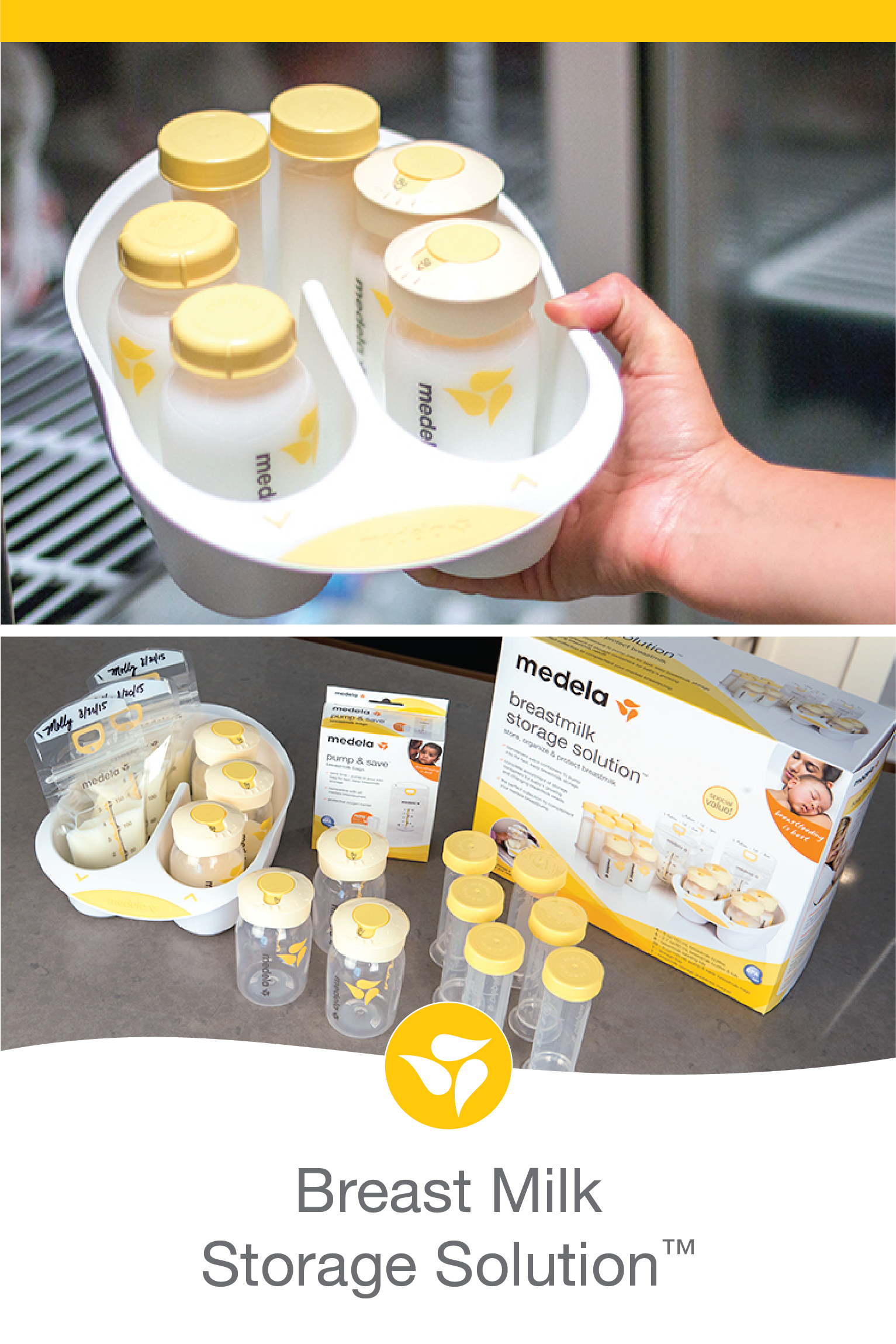 240c35ce00bb The perfect complement to any Medela breast pump! This is a complete  assortment of storage containers for baby's growing and changing breast milk  needs.
