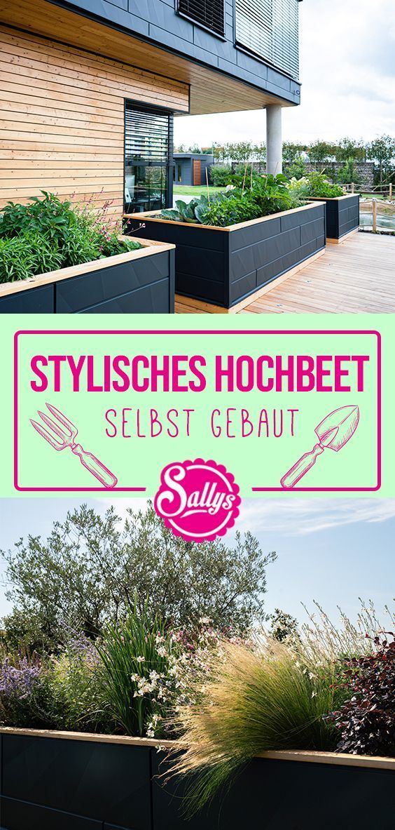 Sallys world stylish raised bed Informations About Sallys Welt Stylisches Hochbeet selbst gebaut Pin You can easily use my profile to examine different pin types Sallys W...