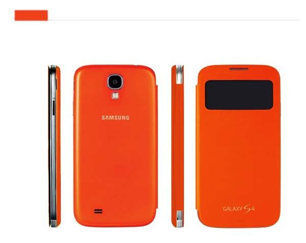Great Samsung Galaxy S4 Smart Leather Cover Case S View Cover 39% off