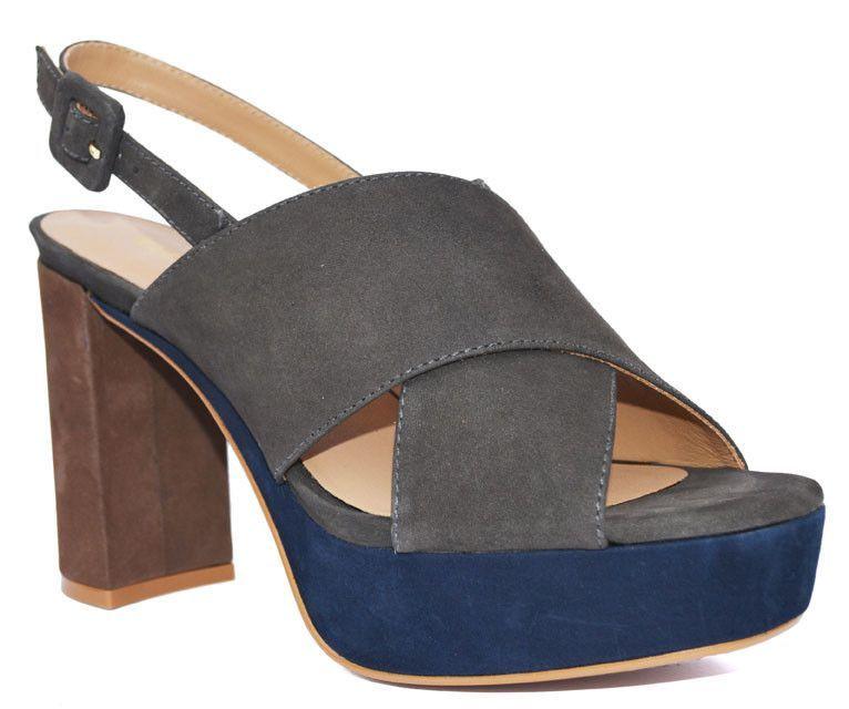 Klub Nico - Una Color Block Heel Sandal