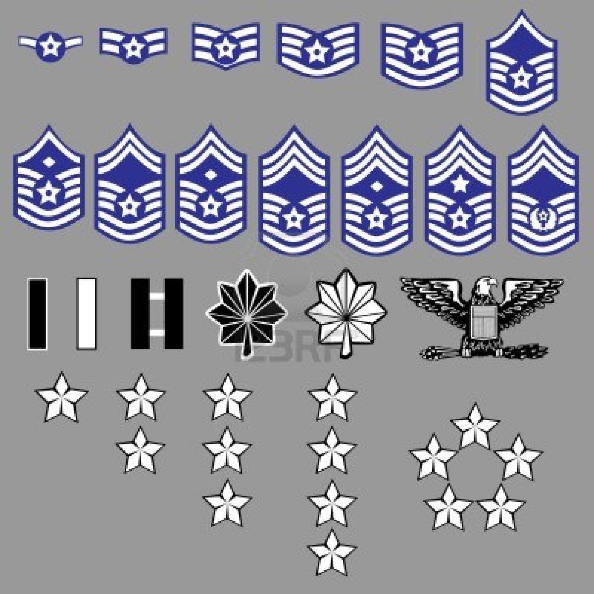 Pictures Of Officer Air Force Ranks