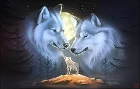 Картинки по запросу волк воет на луну | Картины животных ...
