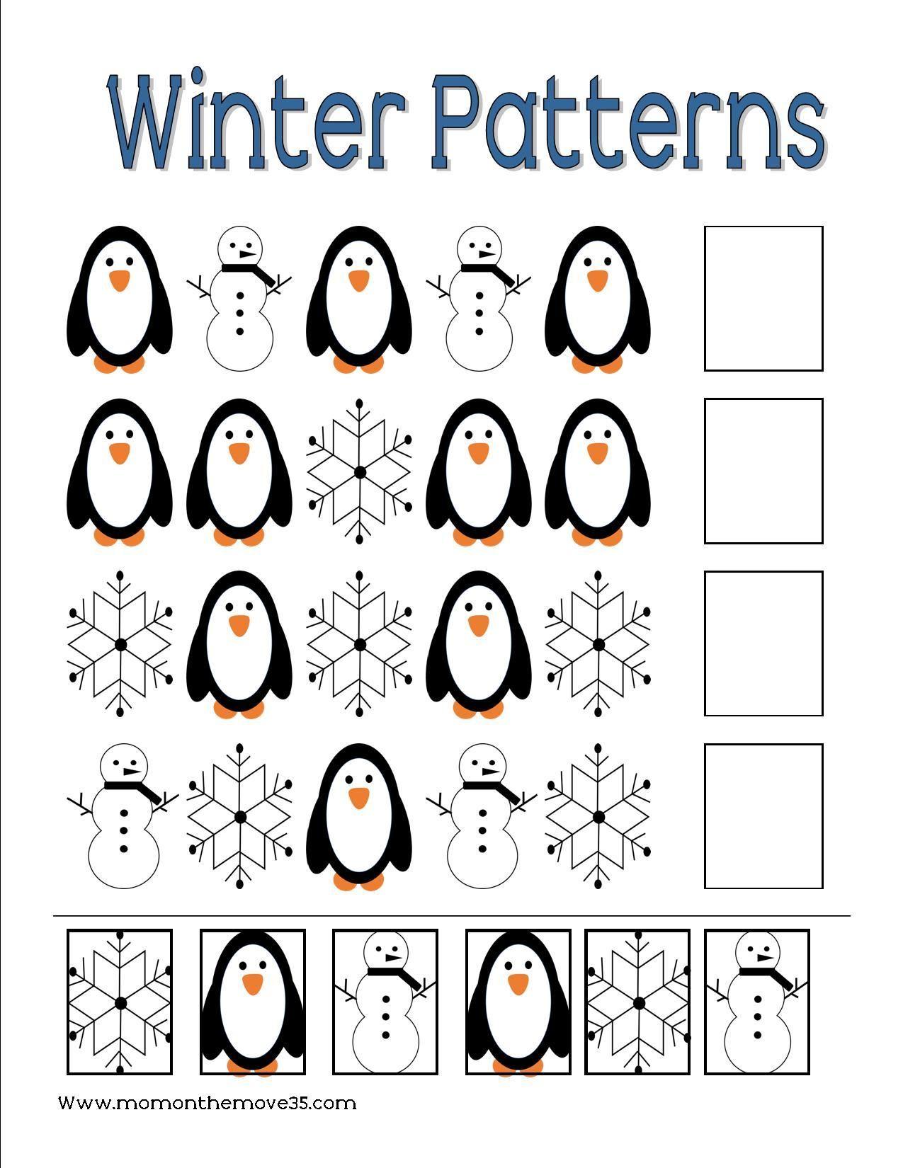 Preschool Penguin Activities