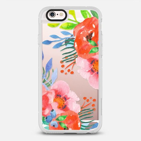 Bright Summer Watercolor Floral Iphone Case Covers Iphone Hard