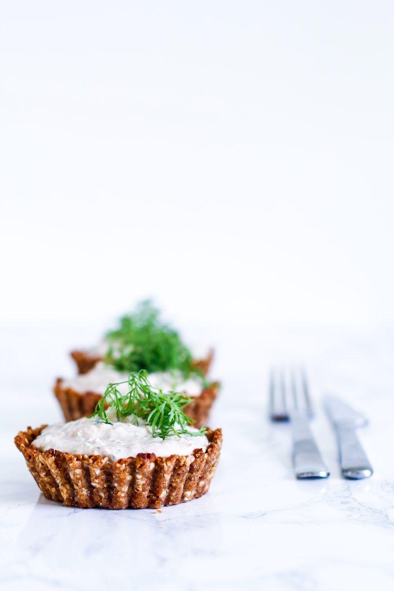 Små tærter med tunmousse | Lækker og nem forret eller frokost