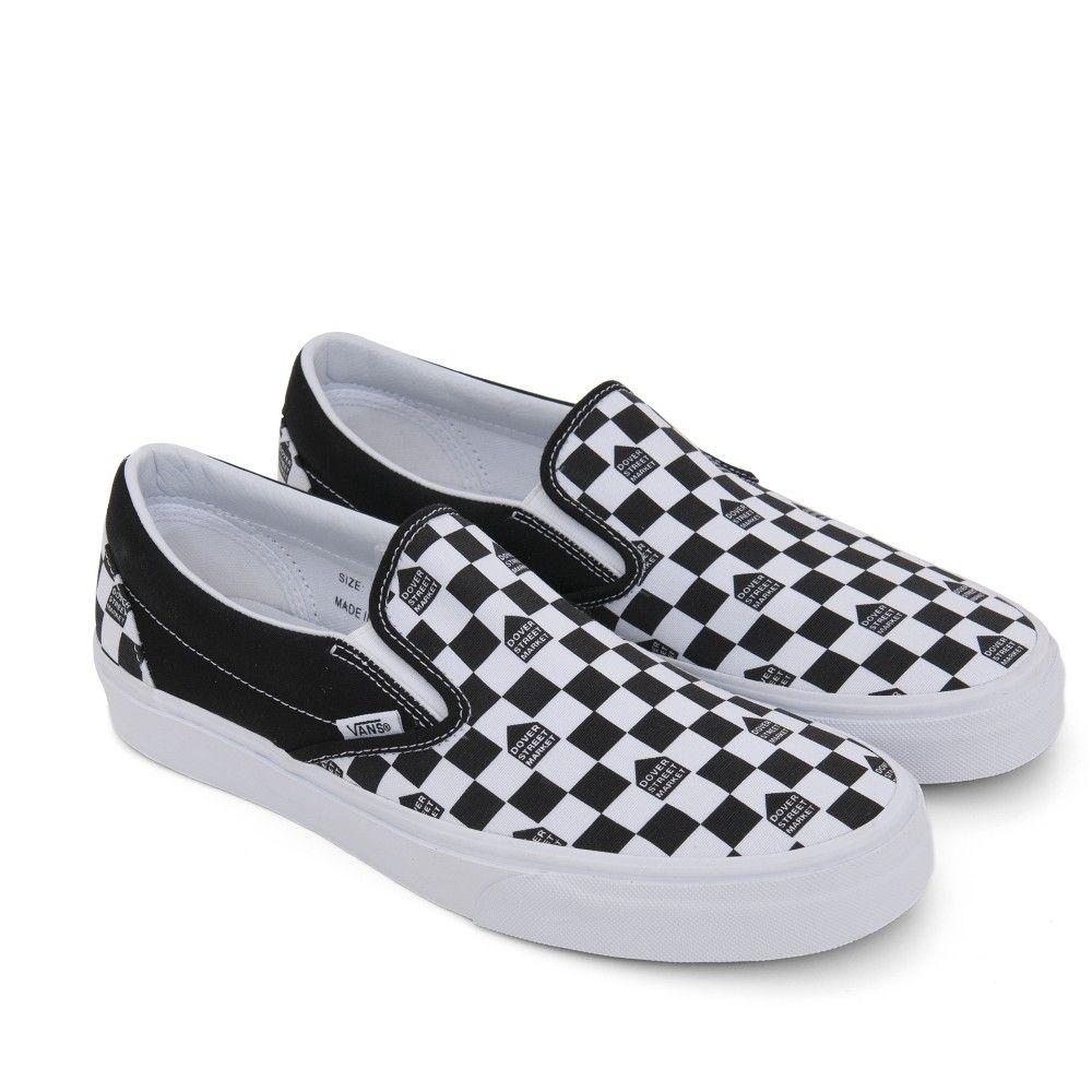 Vans x DSM Classic Slip On (BlackWhite) | Vans