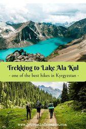 Ala Kul Trek in Kyrgyzstan (Central Asia) - a day by day hiking itinerary,  #Ala #Asia #Central #Day #hiking #ITINERARY #Kul #Kyrgyzstan #Trek