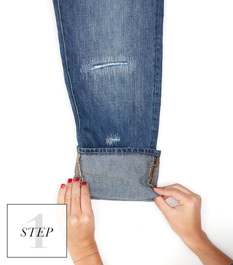 How To Hem Pants With A Cuff How To Cuff Your Jeans Like A Pro Rolled Jeans Outfits Rolled Cuff Jeans How To Fold Jeans