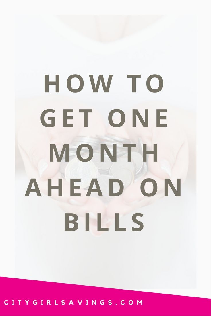 When You Are Trying To Break The Paycheck To Paycheck Cycle It S Best To Take It One Month At A Time Slow And Stead Money Saving Methods Paying Bills Get One