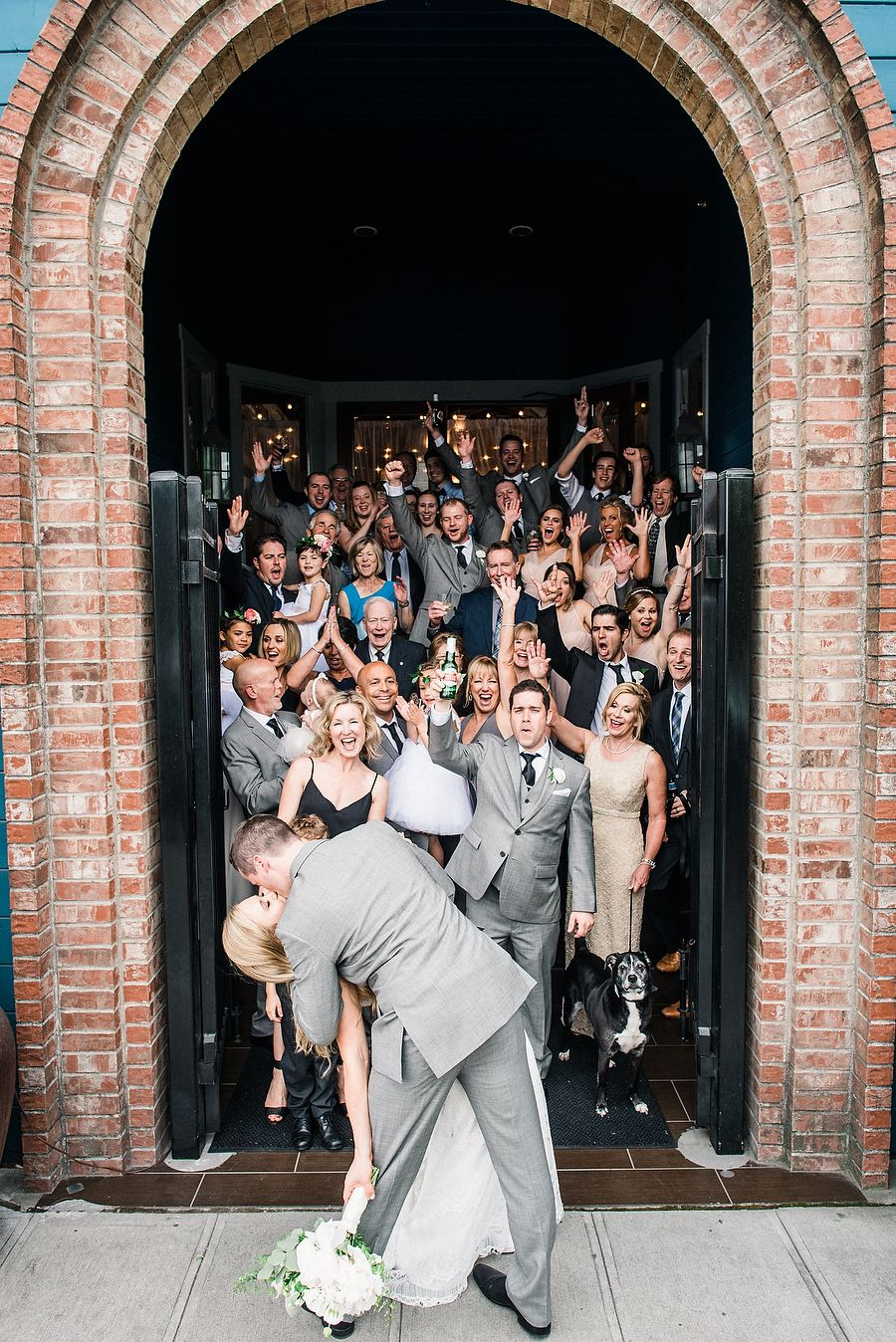 Photography : Ryan Flynn Photography   Wedding Dress : Anna Campbell Read More on SMP: http://www.stylemepretty.com/washington-weddings/seattle/2016/03/29/an-industrial-woodland-inspired-spring-wedding-at-sodo-park-seattle/
