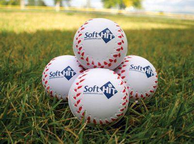Soft Hit Seamed Foam Practice Baseballs Dozen Slow Pitch Softball Ball Softball Equipment