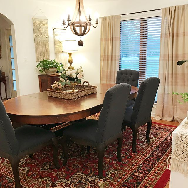 Dining room complete . . . . #diningroom #diningroomdecor ...