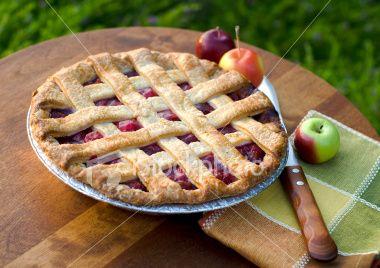 Seasonal fruit pies are my favorite