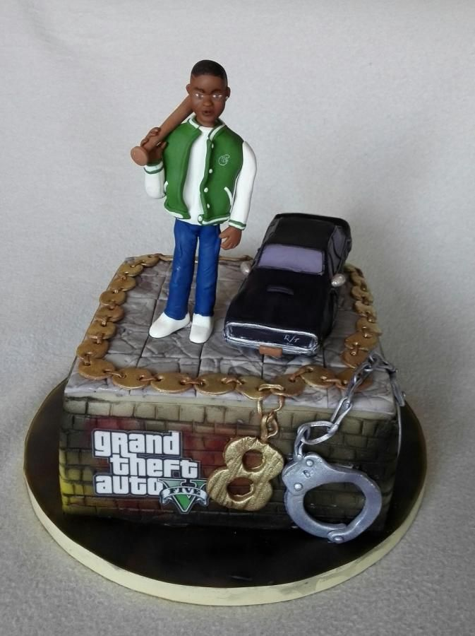 GTA 5 By Anka Happy Birthday Kids Party Ideas Cake Images Gta