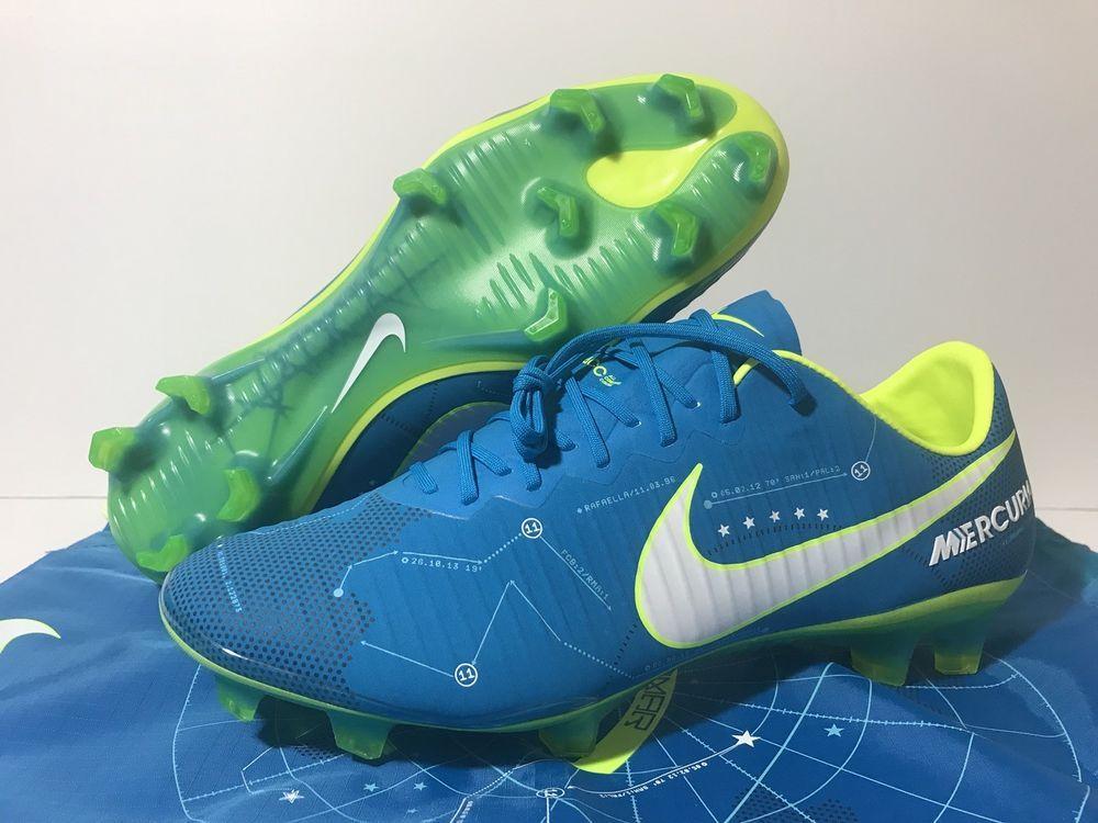 new styles df8be 89f91 Nike Mercurial Vapor XI Neymar NJR FG ACC Soccer Cleats Sz ...