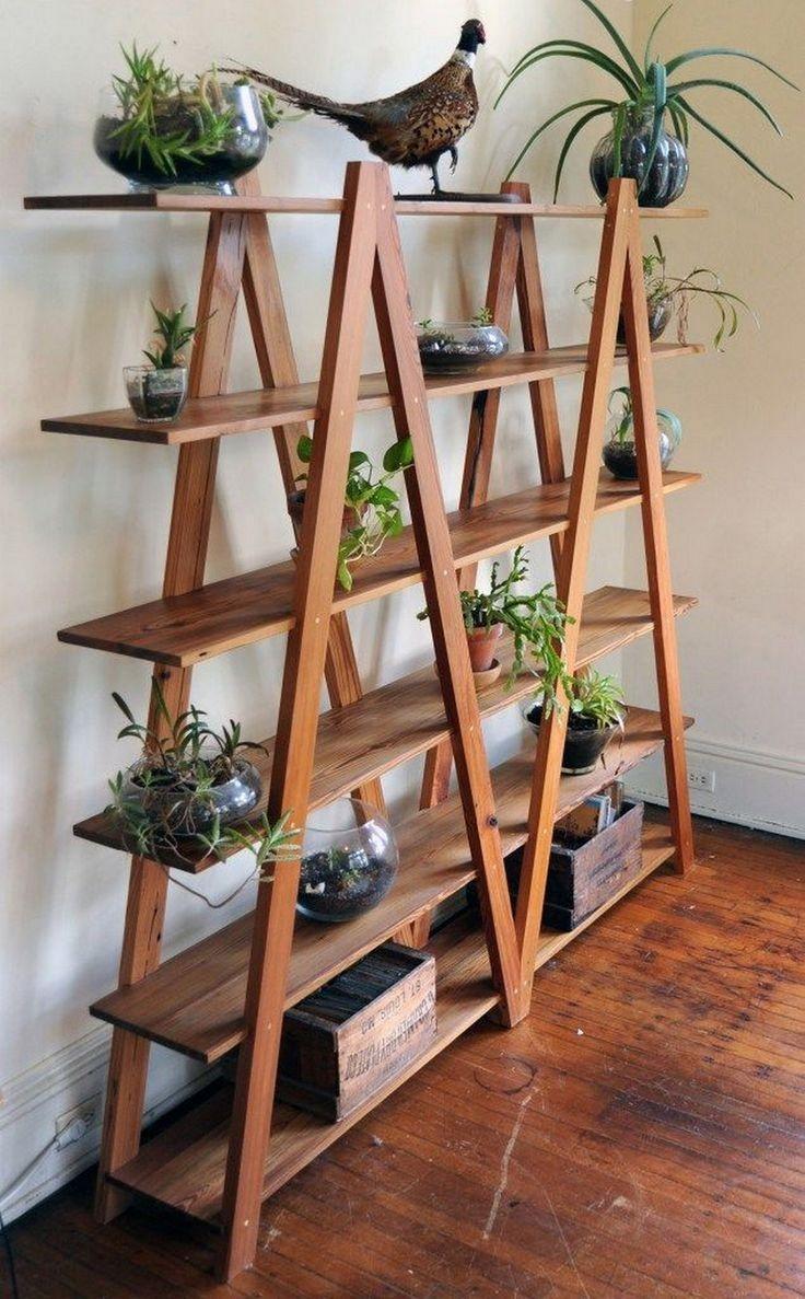 Kmart Industrial Ladder Shelf Indoor Vertical Garden Ideas  gardening