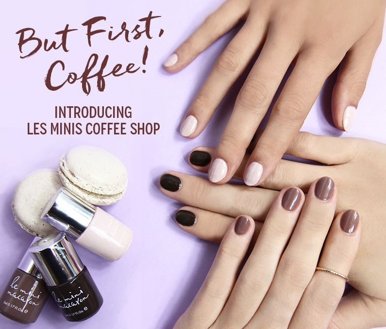 gel polish, le mini macaron, gel nail kit, DIY gel manicure | Just ...