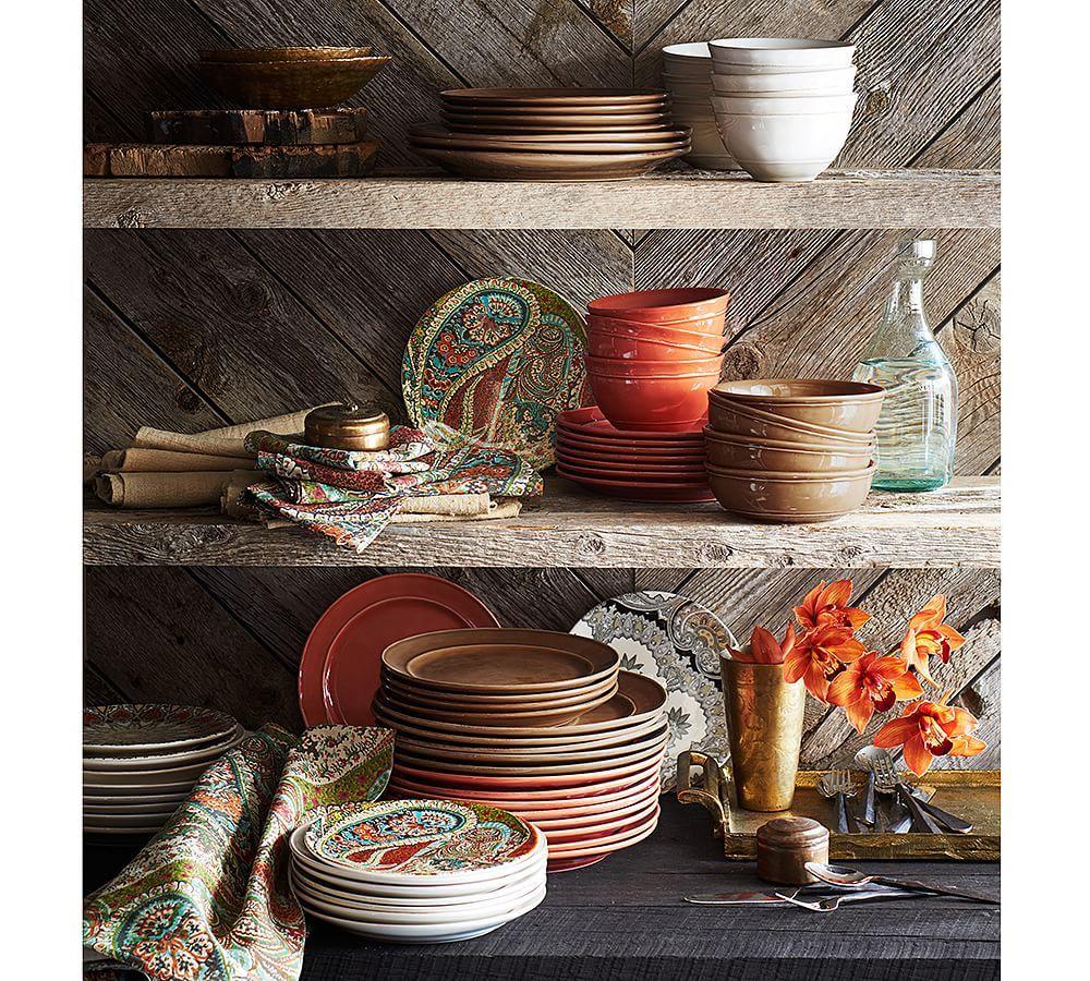Cambria dinnerware set mushroom decor dinnerware