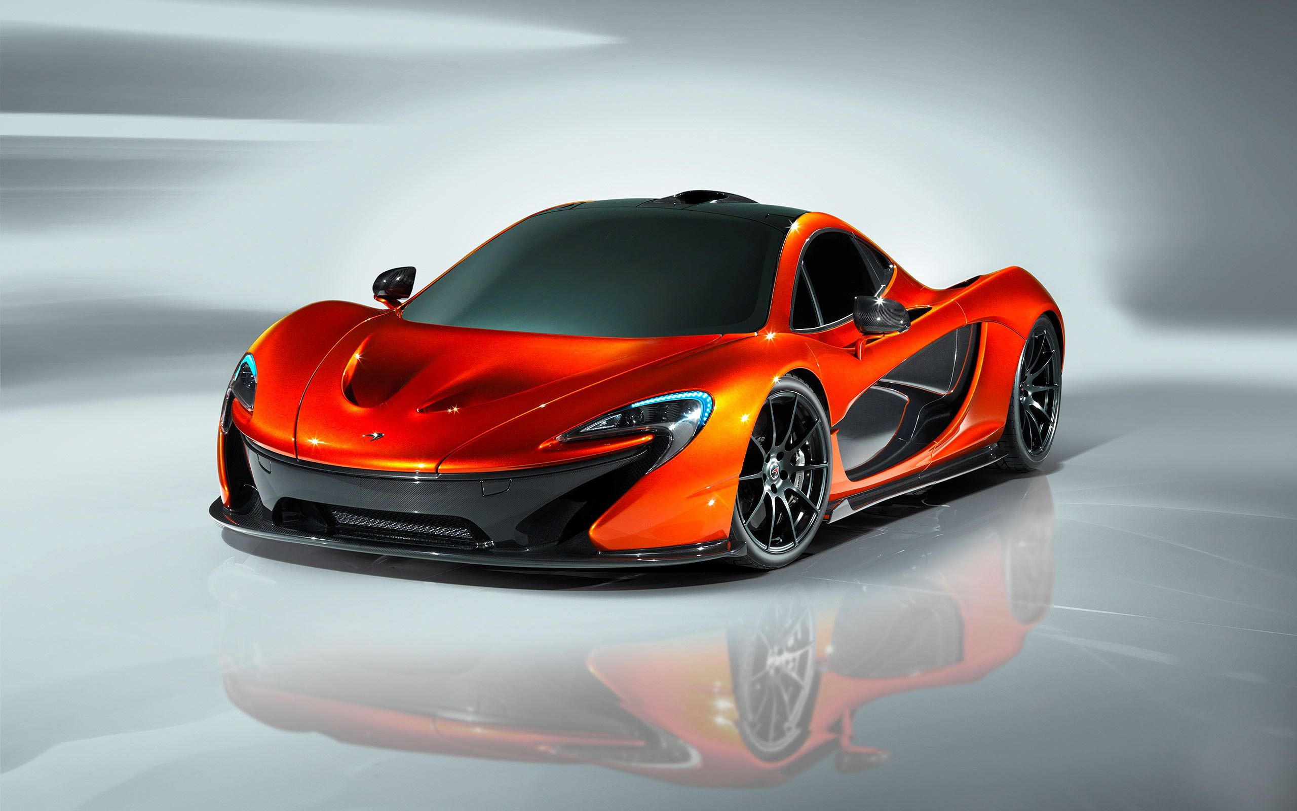 Mclaren P1 Concept Car Orange HD wallpapers Autos