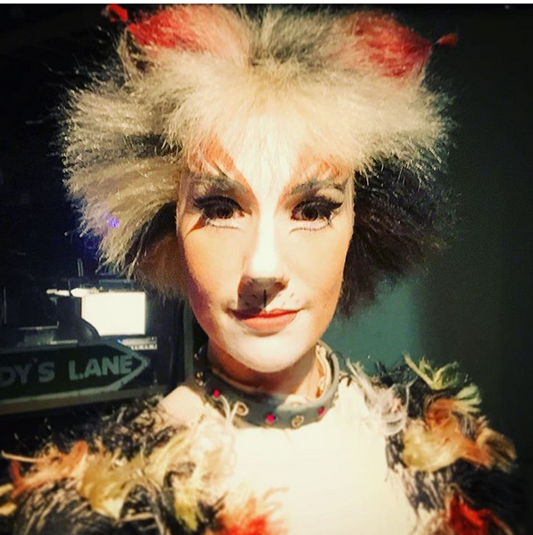 Erin James as Etcetera Cats musical, New zealand tours
