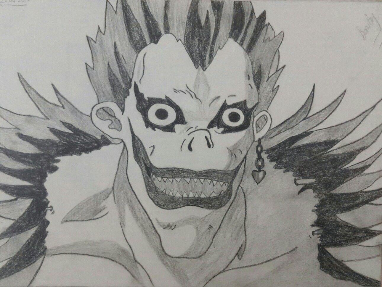 Deathnote Ryuk Drawings Sketches Art