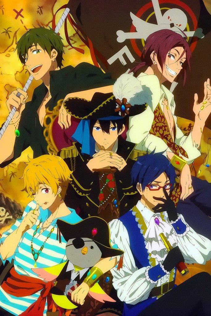 Free Anime Poster Free anime, Anime, Pulp fiction