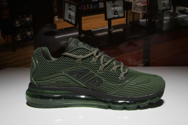 3cd90bd619ce7 Nike Air Max 2018 Army Green Men KPU