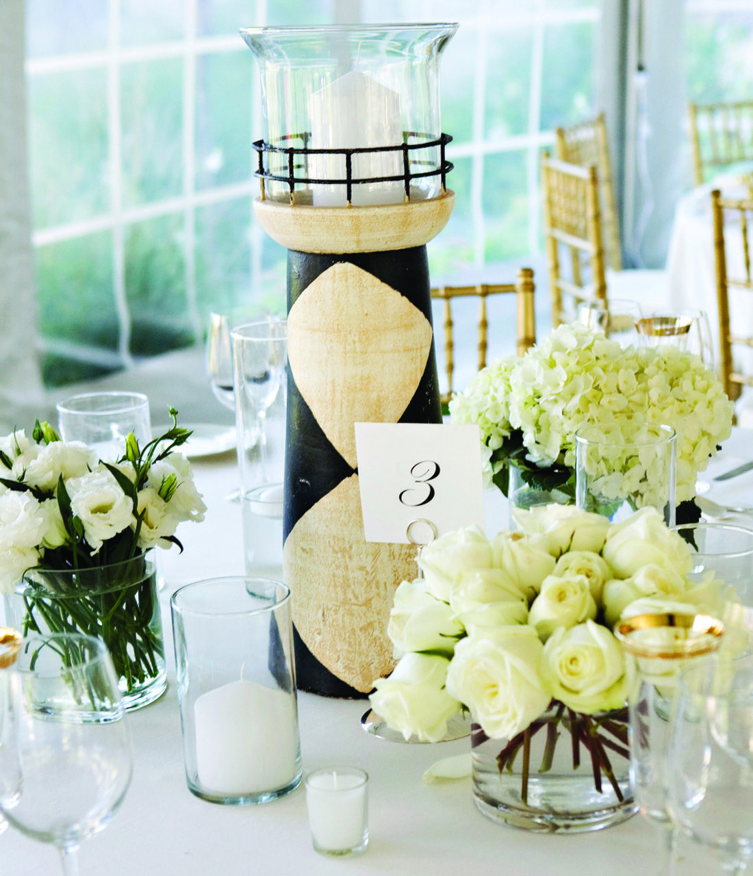 Beach Wedding Centerpieces Ideas: Pretty Centerpieces For A Seaside Wedding