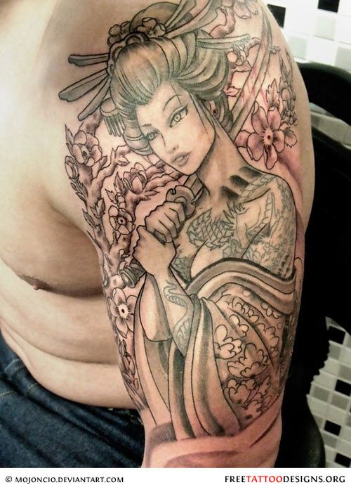 I Want This On My Other Arm 3 Love It Geisha Tattoo Geisha Tattoo Design Japanese Geisha Tattoo