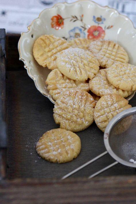 Zarte Marzipan Kekse - Tasty Matter