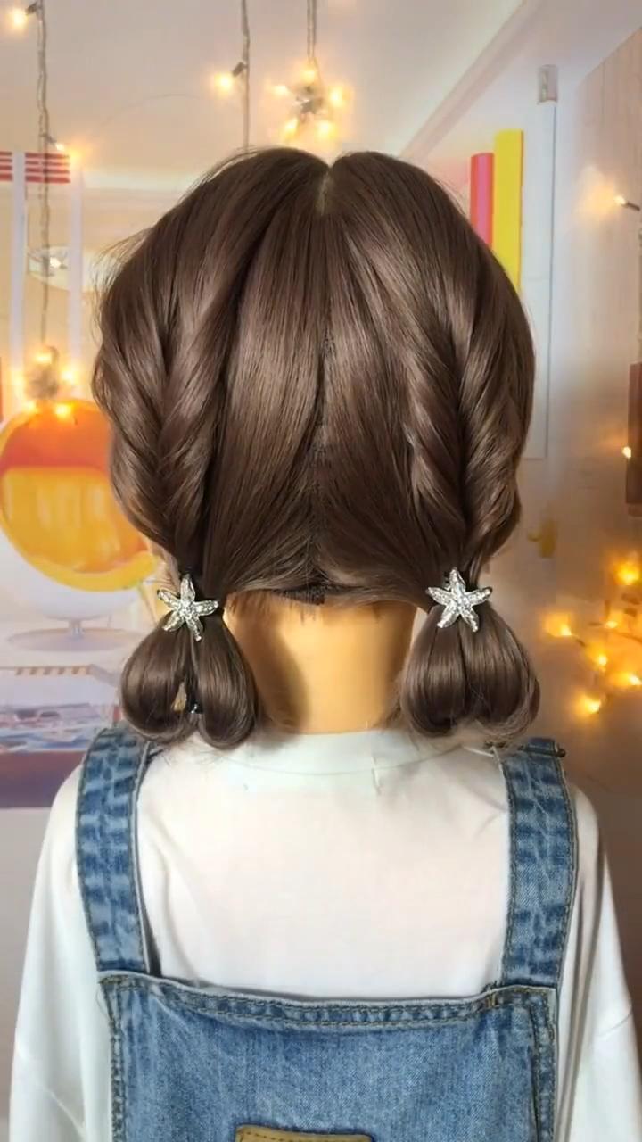 Cute goddess braids | Hairstyle appreciation 3
