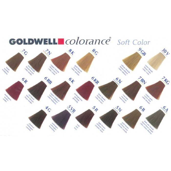 Goldwell Colorance Chart Prettyyy Pinterest Hair