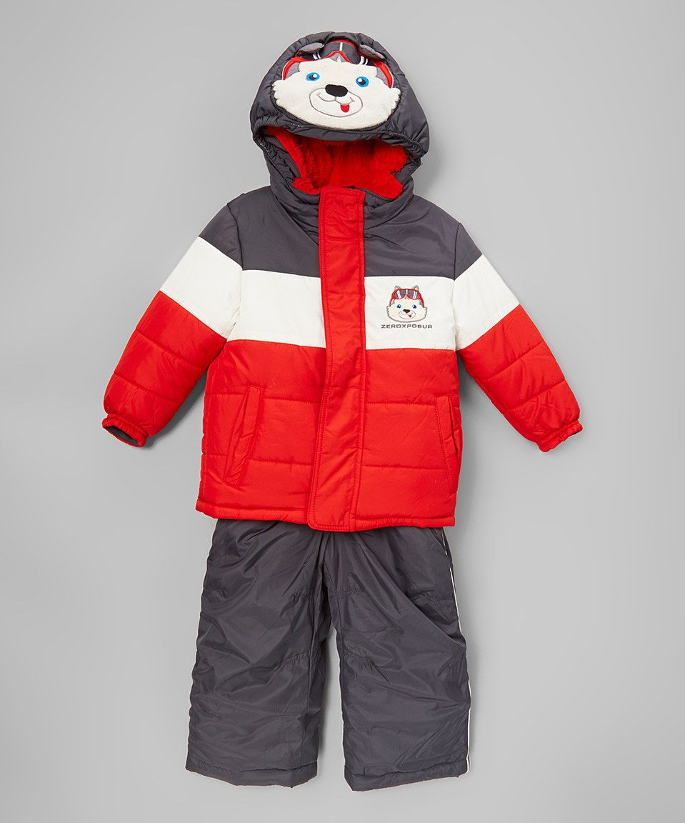 Love This Zeroxposur Red Husky Jacket Amp Snowsuit Toddler