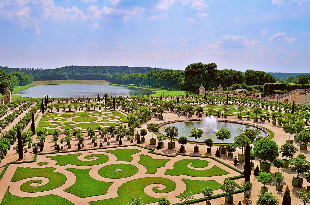 Tuinen Van Versailles.De Tuinen Van Versailles Deze Tuinarchitectuur Is Ontworpen
